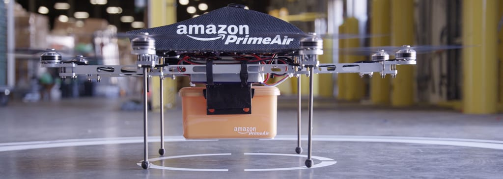 Drones Delivery: Coming Soon to a Backyard Near You